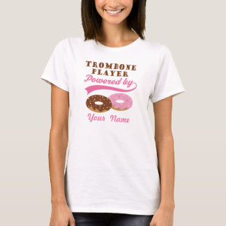 Personalized Trombone Donut Funny Gift T-Shirt
