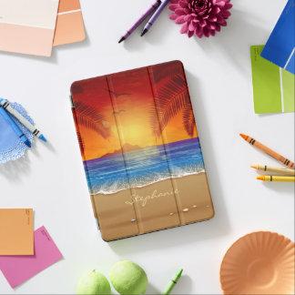 Personalized Tropical Beach Sunset iPad Air Case iPad Air Cover