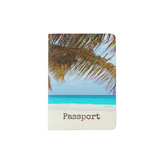 Personalized Tropical Relaxing Blue Beach Scene