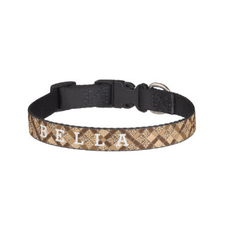 Personalized Truffle Pet Collar