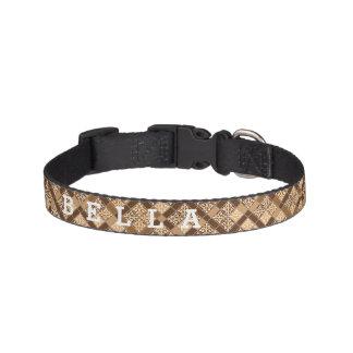 Personalized Truffle Pet Collars