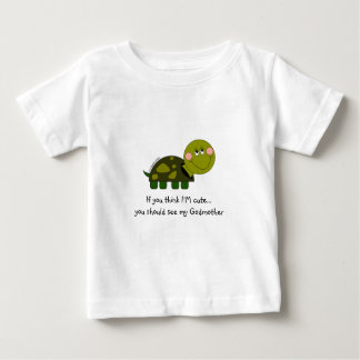 Personalized Turtle infant tee