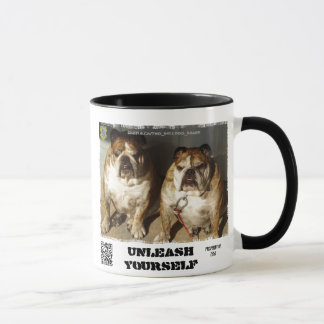 Personalized Two Bulldog Brand Mug