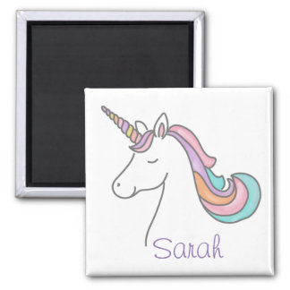 Personalized Unicorn Magnet