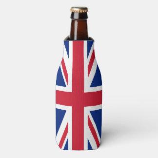 Personalized United Kingdom flag Bottle Cooler