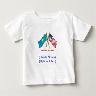 Personalized US Kazakhstan Child's Shirt