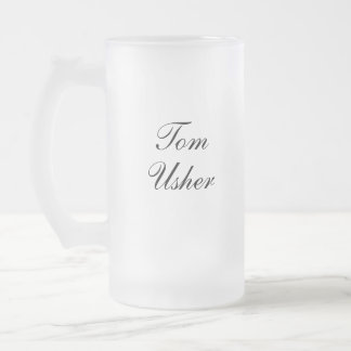Personalized Usher Mug