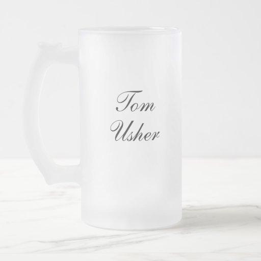 Personalized Usher Mug