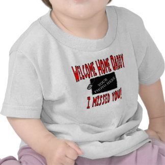 Personalized USMC Welcome Home Daddy Tshirt