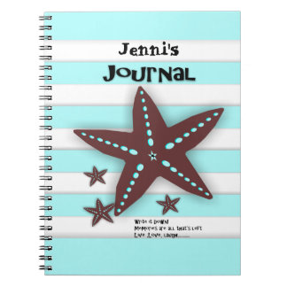 Personalized Vacation Travel Journal Spiral Notebook