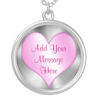 Personalized Valentines Day Necklace for Her