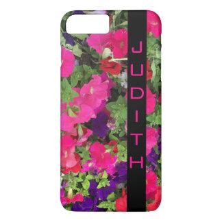 Personalized Vertical Black Bar Photo iPhone 8 Plus/7 Plus Case