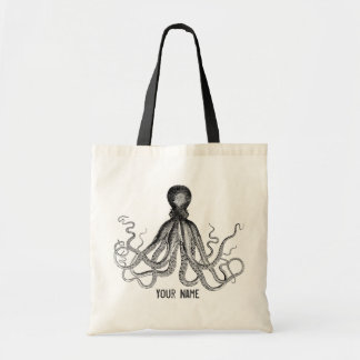 Personalized Victorian Octopus, Steampunk
