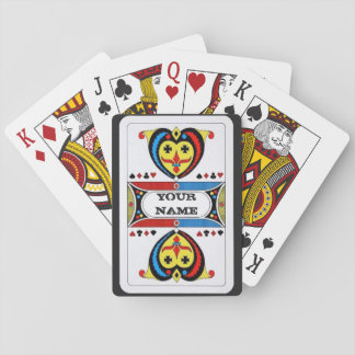 Personalized Vintage Inspired Playing Cards
