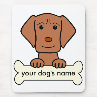 Personalized Vizsla Mouse Pad