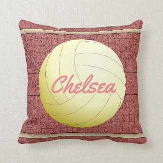 Personalized Volleyball Cushion