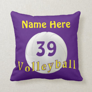 Personalized Volleyball Gifts, Volleyball Pillow