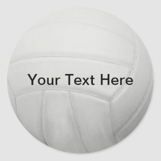 Personalized Volleyball Stickers