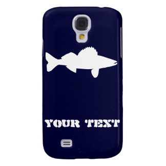 Personalized Walleye Fishing Galaxy S4 Case
