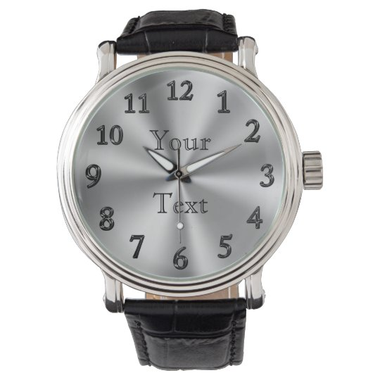 PERSONALIZED Watch / LARGE Number Watches for Men