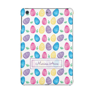 Personalized Watercolor Easter Egg Pattern