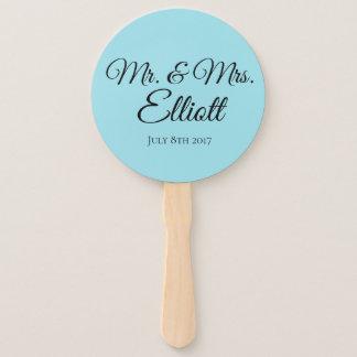 Personalized Wedding Fan favor