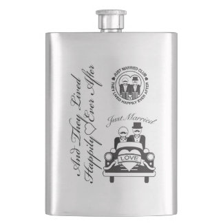 Personalized Wedding Gift Groom Lgbt Flask
