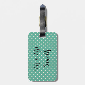 Personalized Wedding Gift Luggage Tag