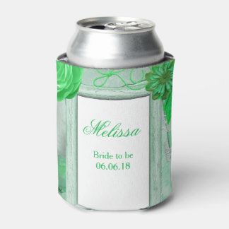 Personalized Wedding Green Floral