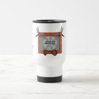 Personalized Wedding Photo Favor Travel Mug