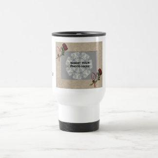 Personalized Wedding Photo Travel Coffee Mug