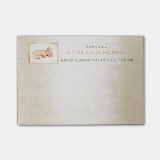 Personalized Wedding Thank You Gift Favor Post-it® Notes
