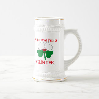 Personalized Welsh Kiss Me I'm Gunter Beer Steins