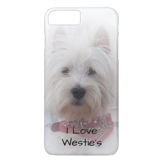 Personalized West Highland Terrier Design iPhone 7 Plus Case
