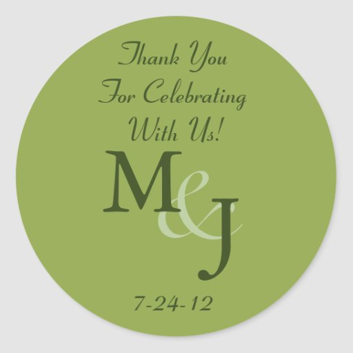 Personalized White Daisy Wedding Favor Labels Round Stickers