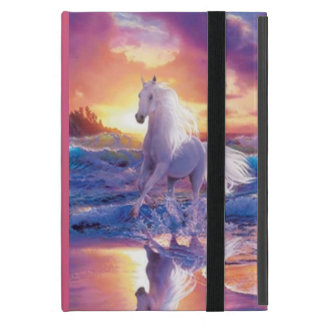 Personalized White Stallion iPad Mini Case