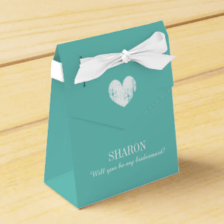 Personalized Will you be my bridesmaid favor box Wedding Favour Boxes