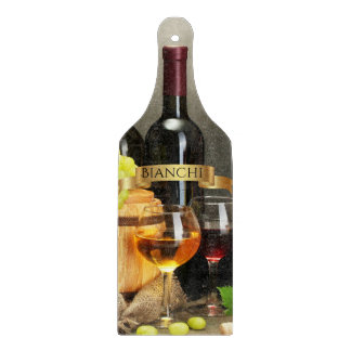 Personalized Wine Bottle Cutting Board