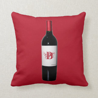 Personalized Wine Bottle Pillow