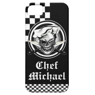 Personalized Winking Chef Skull iPhone Case iPhone 5 Covers