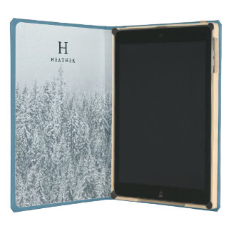 Personalized   Winter Cover For iPad Air