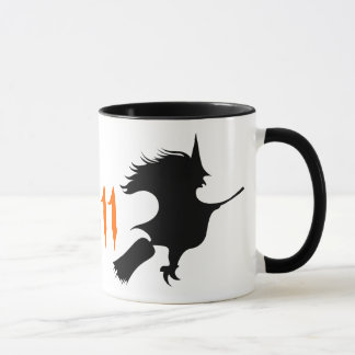 Personalized Witch Mug Halloween