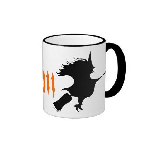 Personalized Witch Mug Halloween