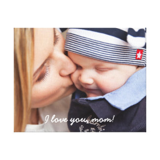 Personalized Wrapped Canvas Unique Gifts For Mom Canvas Print