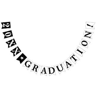 PERSONALIZED YEAR GRADUATION BUNTING