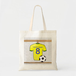 Personalized Yellow Green Football Soccer Jersey