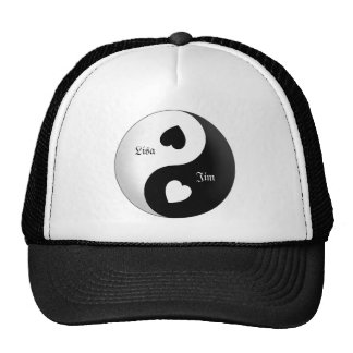 Personalized Yin Yang Love Hat
