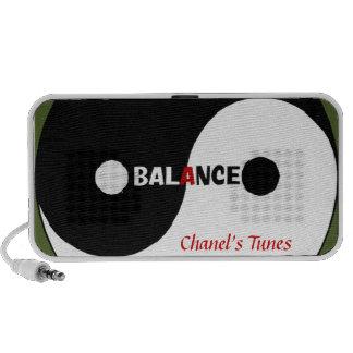 Personalized (Yin Yang) Portable Speaker