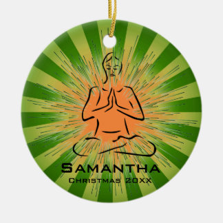Personalized Yoga Pose Ornament