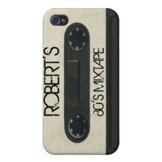 Personalized 'Your Name' Mixtape iPhone4/4s skin iPhone 4/4S Cases